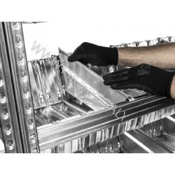 Dělící příčka do vanové police hl. 500mm