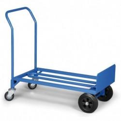 Kombinace rudl a plošinový vozík