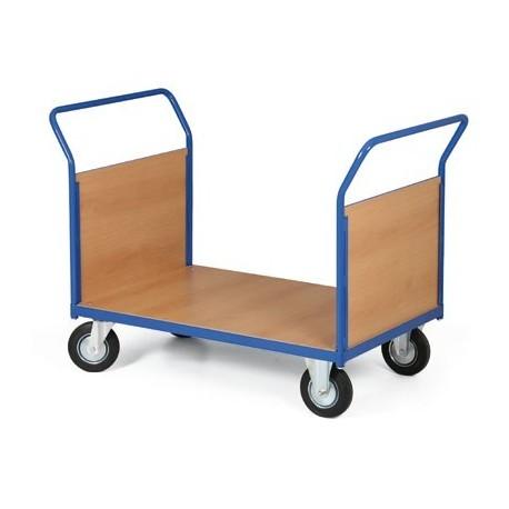 Plošinový vozík 1000 x 700 mm, nosnost 500 kg