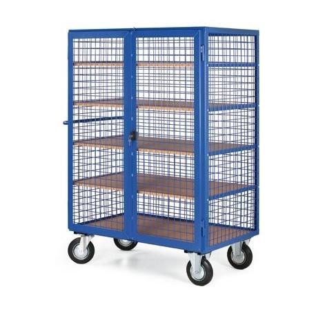 Skříňový vozík vysoký - uzamykatelná bedna