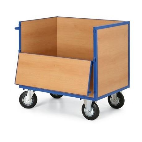 Skříňový vozík -výplň dřevotříska
