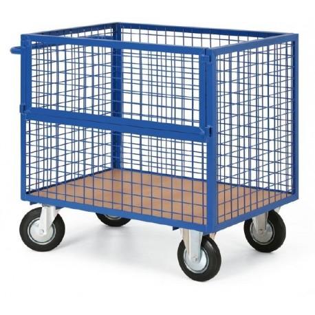 Skříňový vozík -výplň síto