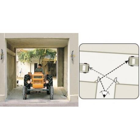 Zrcadla pro výjezdy z parkovacích prostor se širokoúhlým výhledem440x75x220mm
