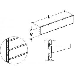 Zadní panel kazetový 625/100mm