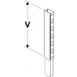 nástavec stojiny 80x30mm/100mm
