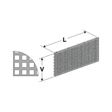 Zadní panel děrovaný D1330/400mm