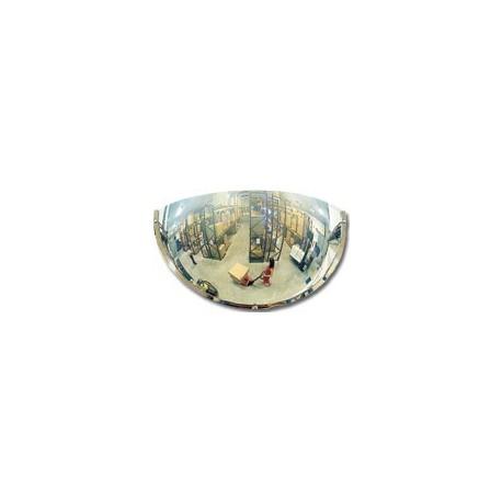 Hemisférická zrcadla pro veřejné prostory-čtvrtina sféry 570mm