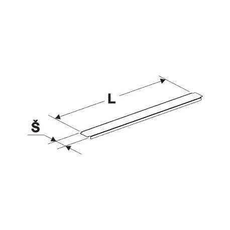 Krycí lišta gondoly (stojina 60x30mm)1250mm