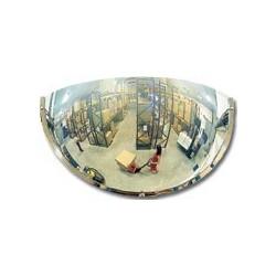 Hemisférická zrcadla pro veřejné prostory-čtvrtina sféry 800mm