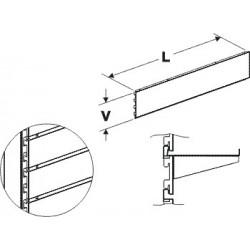 Zadní panel kazetový 1000/100mm
