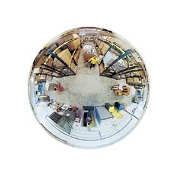 Hemisférická zrcadla pro veřejné prostory-polovina sféry 1140mm