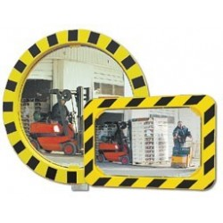 Bezpečnostní zrcadlo-Kontrola 2 směrů půměr 600mm