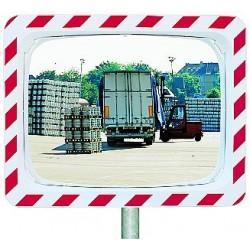 Bezpečnostní zrcadlo-Kontrola 2 směrů,1000x800mm