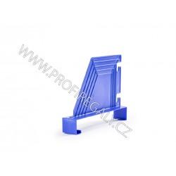Dělítko šikmé  plastové modré hl.320 x v.200mm
