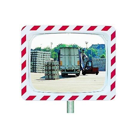 Bezpečnostní zrcadlo-Kontrola 2 směrů,600x400mm