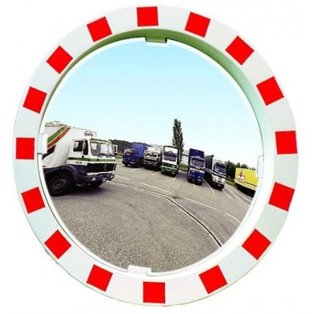 Bezpečnostní zrcadlo-Kontrola 2 směrů, průměr 600mm