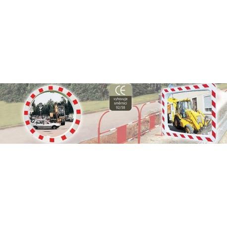 Zrcadla pro veřejné stavby kontrola 2 směrů 600x400mm
