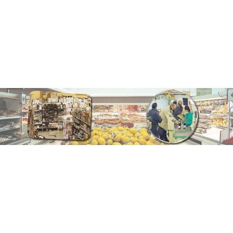 Standardní zrcadla pro dohled,600x400mm