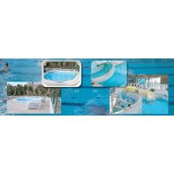 """Zrcadlo""""pro bazén""""pro vnitřní použití"""