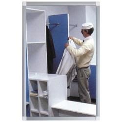 Protistřepinový -plochá zrcadla 600x800mm