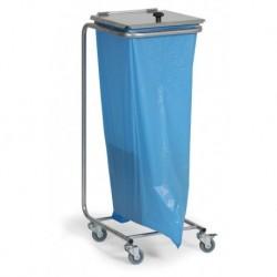 Stojan na odpadkové pytle s víkem