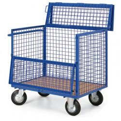 Skříňový vozík - uzamykatelná bedna