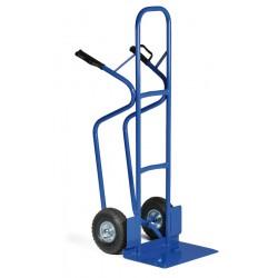 Stohovací rudl - zpevněná konstrukce, převoz vysokých předmětů