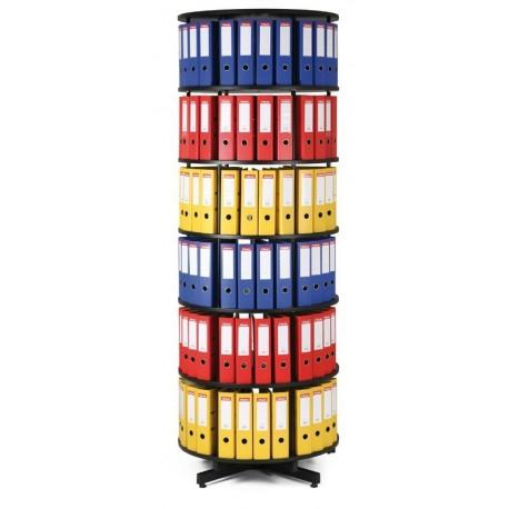 Archivační otočná skříň - 6 pater