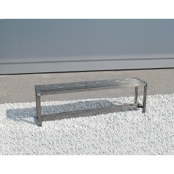 Nerezová lavička, délka 900 mm