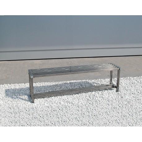 Nerezová lavička, délka 900mm
