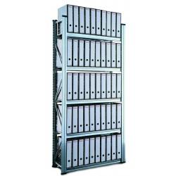 Regál Archivní SUPER123 1972x1200x600mm 5 polic základní modul
