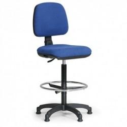 Kancelářská židle Milano s opěrným kruhem Č