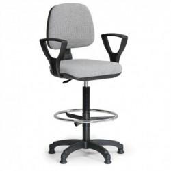 Kancelářská židle Milano s opěrným kruhem a područkami CH