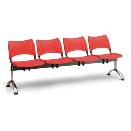 Plastová lavice Visio 4CH