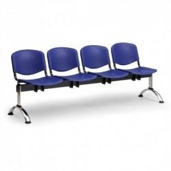 Plastová lavice ISO 4 CH