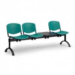 Plastová lavice ISO 3+1