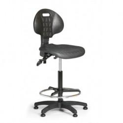 Pracovní židle PUR 3 s opěrným kruhem