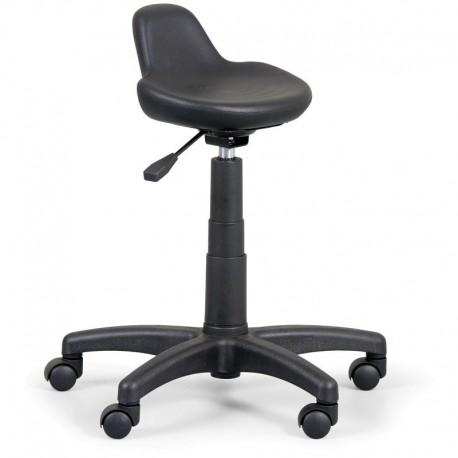 Laboratorní stolička s tvarovaným sedákem