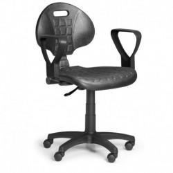 Pracovní židle PUR 1 s područkami