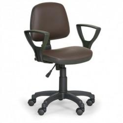 Dílenská židle Milano s područkami