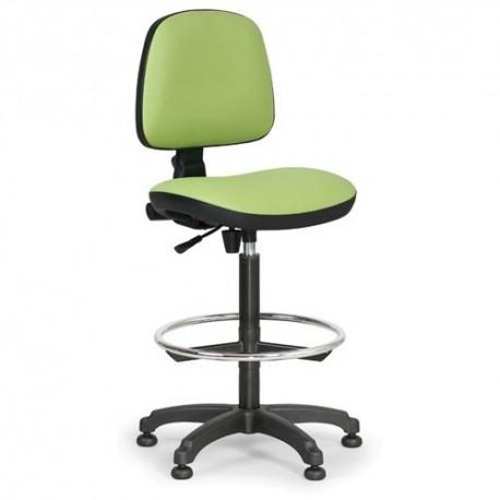 Dílenská židle Milano s opěrným kruhem