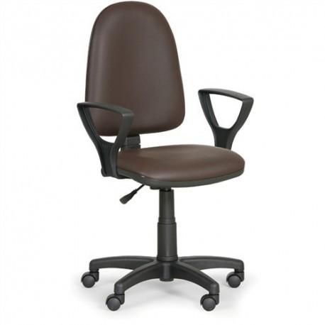 Dílenská židle Torino s područkami