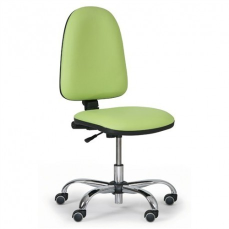 Dílenská židle Torino chrom
