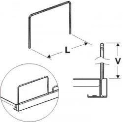 Čelní opěra drátěná 140/25 mm