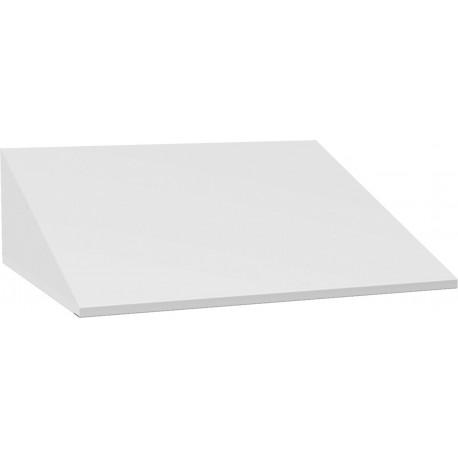 Šikmá střecha pro šatní škříň