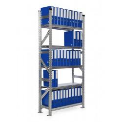 Regál archivní SUPER123 2500x1500x600mm 7 polic základní modul
