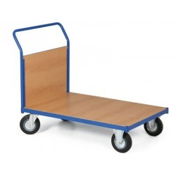 Plošinový vozík 1000 x 700 mm, nosnost 400 kg
