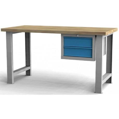 Pracovní stůl základní s podvěsným kontejnerem