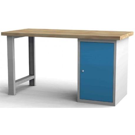 Pracovní stůl jednostranný š 1500 s kontejnerem