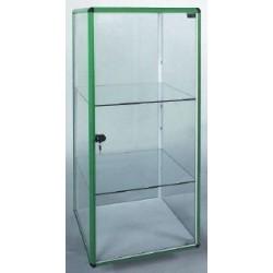 Prosklená vitrína bez soklu